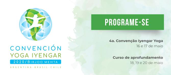 Inscrições iniciam em breve para Convenção Yoga Iyengar 2020